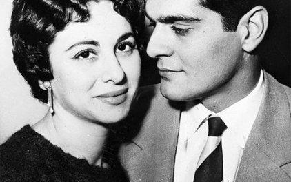 Omar Charif et Faten Hamama